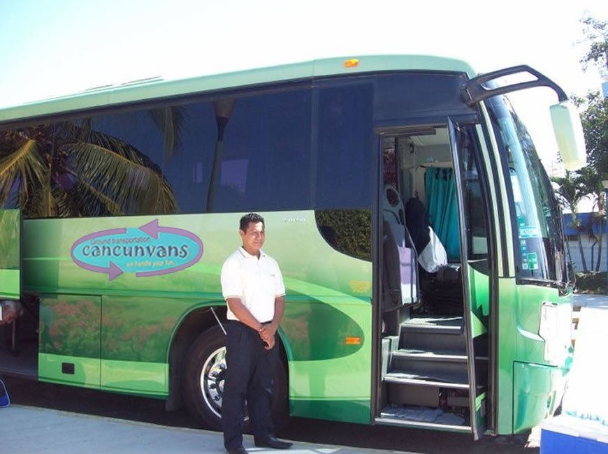 Cancun Airport Bus service.